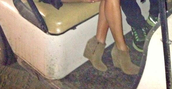 shoes,tan,suede,wedges,ankle boots