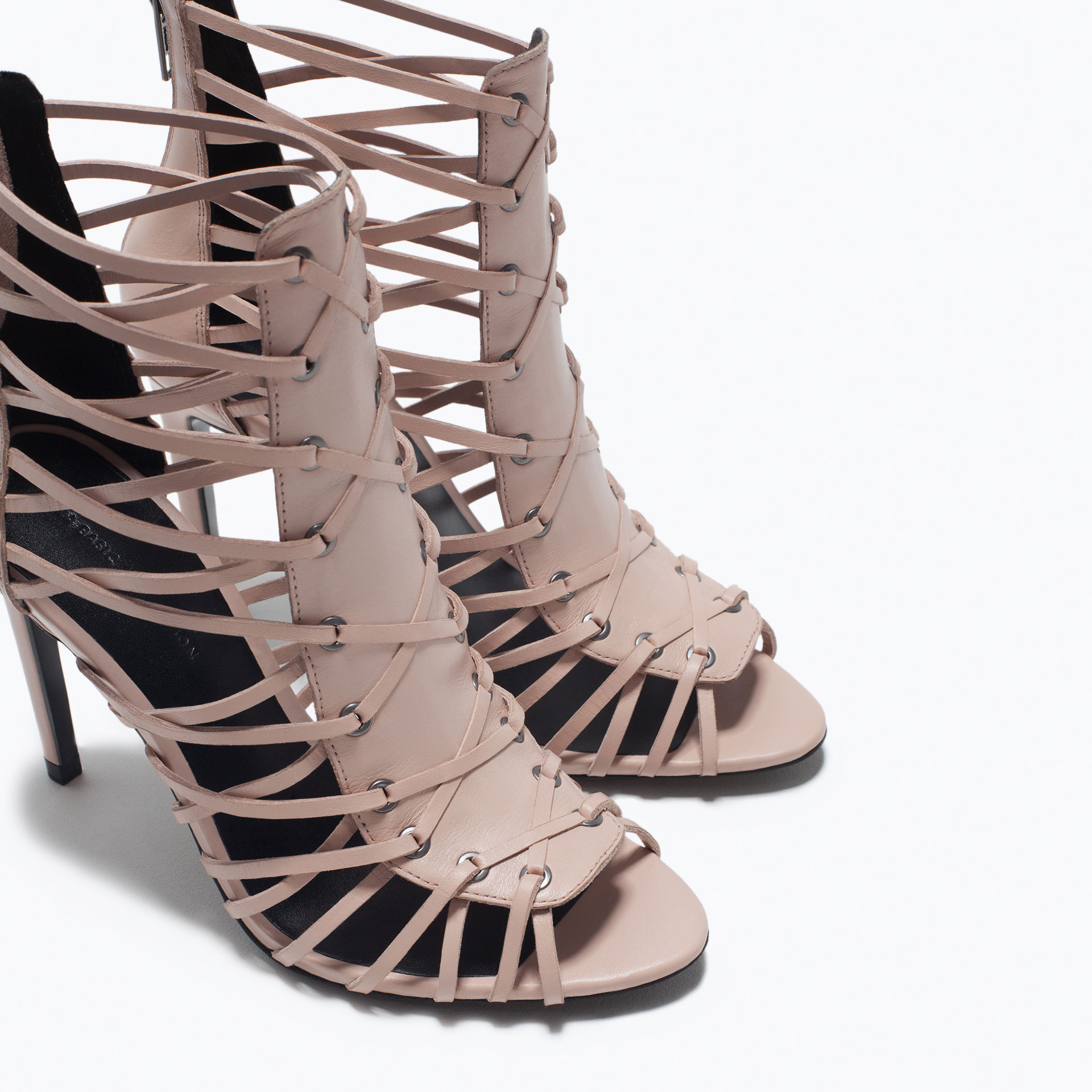 HIGH HEEL SANDAL - Heeled sandals - Shoes - WOMAN | ZARA United States