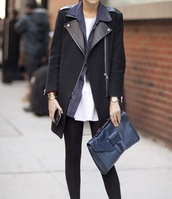 jacket,wool,leather,biker jacket,coat,black coat