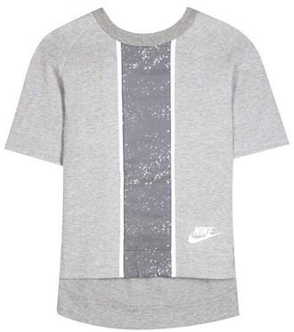 t-shirt shirt cotton grey top