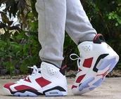 shoes,carmine 6s