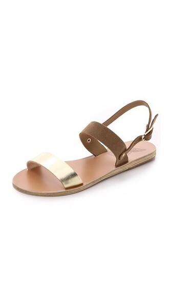 sandals camel shoes