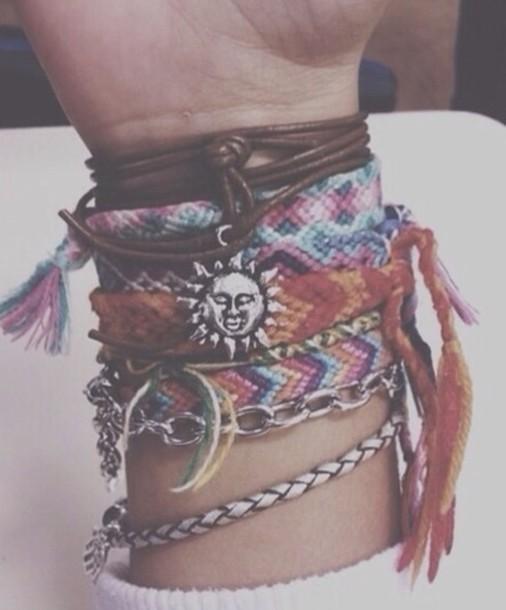 jewels bracelets band wristbands wristband cute summer trendy tumblr tumblr girl tumblr fashion tumblr celebrity celebrity style celebrity style bracelets bresilien bracelet br?silien