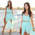 Aliexpress.com : Buy 2014 New Fashion  Hot Sale Sexy O Neck Short Dress Irregular Length Blue Beach Dress Chiffon Dresses from Reliable dress star suppliers on Shenzhen MircoDragon Technology co., Ltd