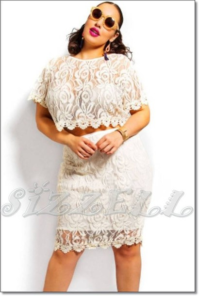 Skirt Blouse Dress 28719 Top Lace Dress Lace Top Lace Skirt
