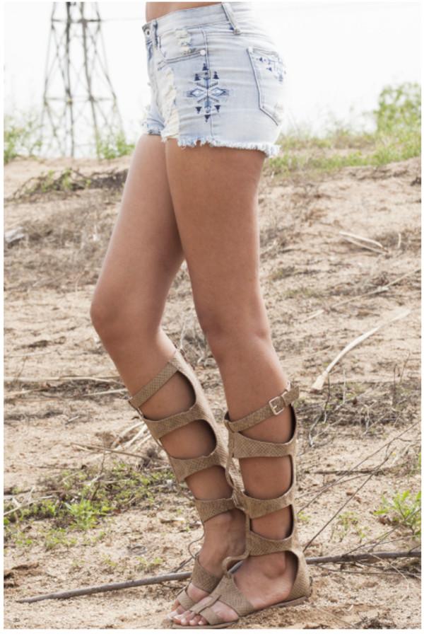 denim shorts denim shorts tribal pattern aztec tribal pattern tribal print shorts aztec print shorts aztec print denim shorts trendy boho hipster shoes