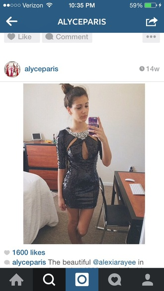 dress homecoming dress short shortdress prom dress prom alyce paris black