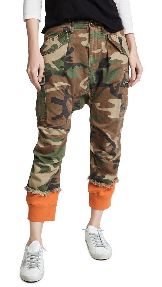 320903b833dea2 R13 Cargo Harem Pants - Olive - Wheretoget