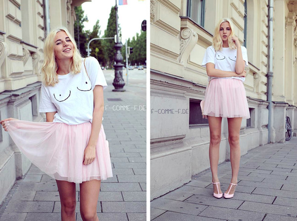 lotta liina love blogger t-shirt skirt shoes bag