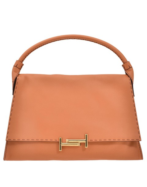 Tods bag leather bag leather brown