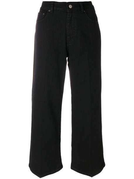 Mm6 Maison Margiela jeans cropped jeans cropped women cotton black