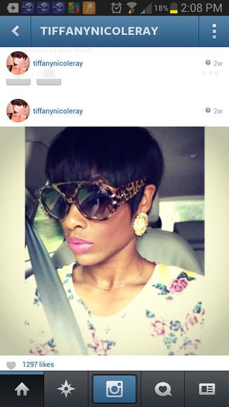 earrings sunglasses