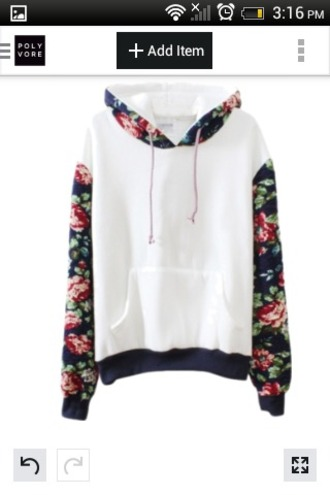 sweater jacket flowers fashion style floral white cotton coat white top floral shirt warm sweater black pink red sports sweater floral hoodie floral sweatshirt bernard lafond hooded sweatshirt hooded sweater floral sweater hoodie swearshirt white sweater white with floral top amazing instagram pinterest cool raglan jumper cute kawaii girly casual fall outfits warm cozy winter outfits pullover long sleeves trendy floral printed long sleeve hooded pullover sweatshirt harajuku girl girly wishlist