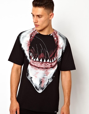 Rook | Rook Gummer T-Shirt With All Over Print at ASOS