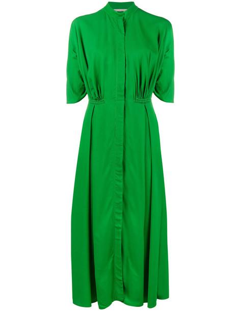 EMILIA WICKSTEAD dress midi dress women midi green