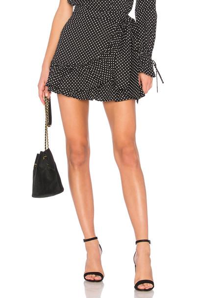 TULAROSA skirt ruffle black