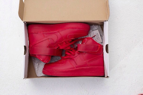 shoes nike airforce1 red