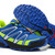 Mountain trail running mens SALOMON XT HORNET cross country royal blue volt green black silver
