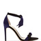 Ladylike two-tone suede sandals by alexandre birman | moda operandi
