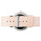 The horse the original unisex leather watch - white rose gold veg