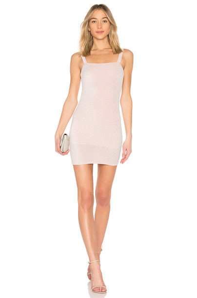 dress mini dress mini sparkle pink