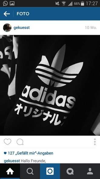 sweater black and white blouse adidas jumper black swag hoodie white writing fashion girl