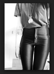 high waisted pants,high waisted leather short,leather pants trousers zippers,leather pants,black leather pants,black leather