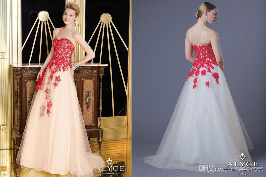 Buy 2014 new arrival sexy strapless sweetheart mermaid beading sheath dress stretch satin train sliver prom dresses, $184.6