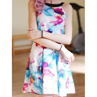 dress rose wholesale mini dress floral dress summer dress cute girly summer floral spring