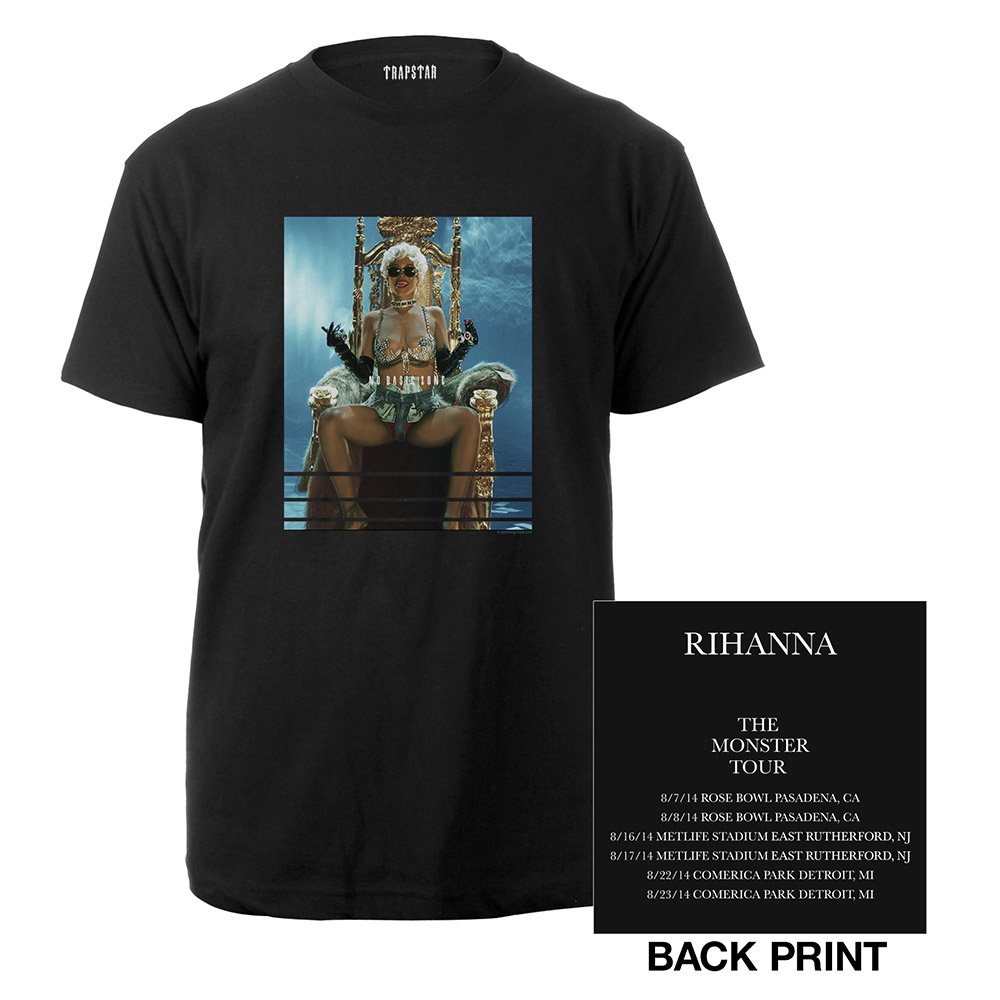 Rihanna Official Store | The Monster Tour Photo Tee*