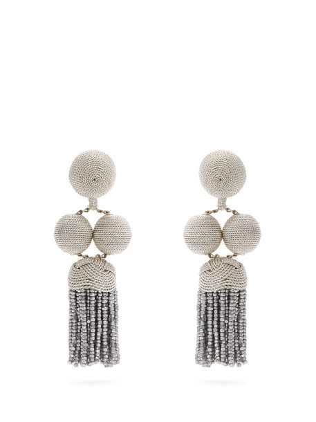 Rebecca De Ravenel earrings silver jewels