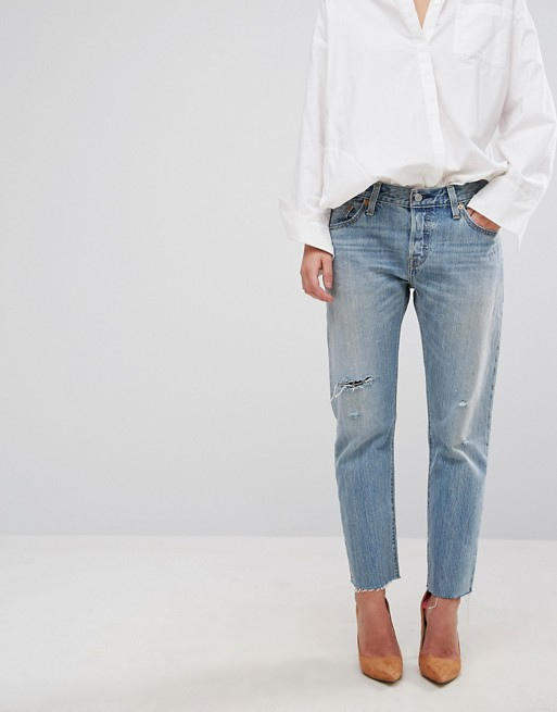 lace up in online store aliexpress Levi's - 501 CT - Boyfriend jeans at asos.com