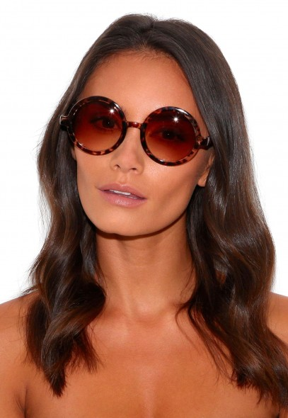 Machi Animal Print Sunglasses - sunglasses - missguided
