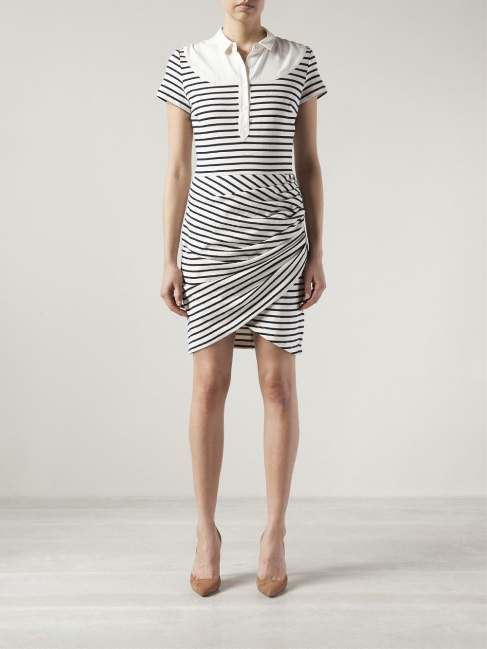 Sea Ruched Dress - The Webster - Farfetch.com