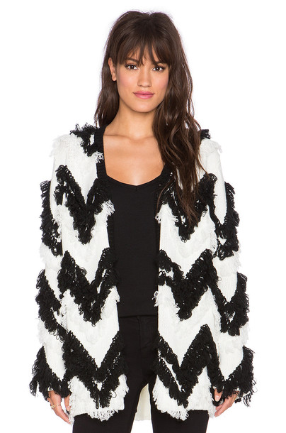Minkpink coat black