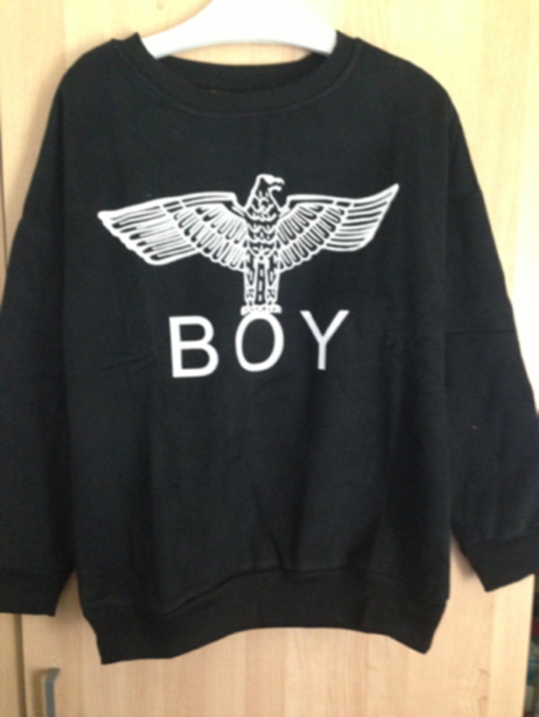 sweater, boy london - Wheretoget