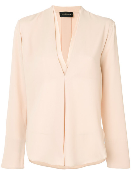 By Malene Birger shirt women nude top