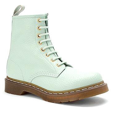 Dr Martens 1460 W 8 Eye Pastel Boot | Women's - Pastel Mint QQ Pearl