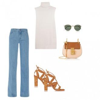 bag sunglasses helena bordon blogger sweater jeans shoes