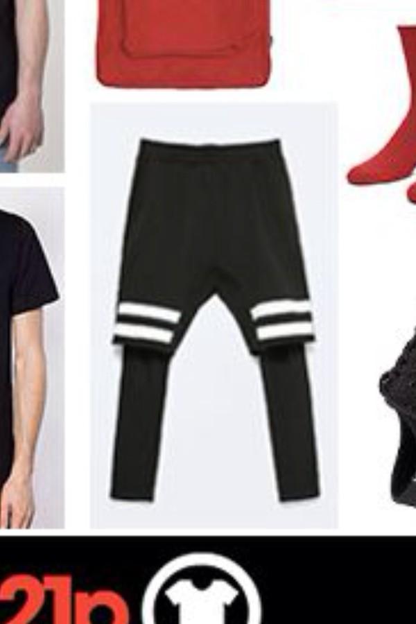 Shorts: black, white stripes, basketball, twenty one pilots ...