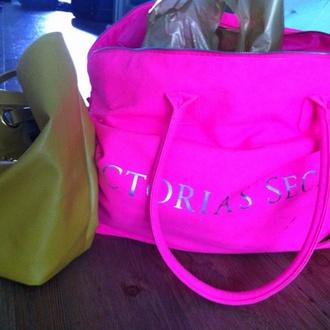 bag victoria's secret pink bag