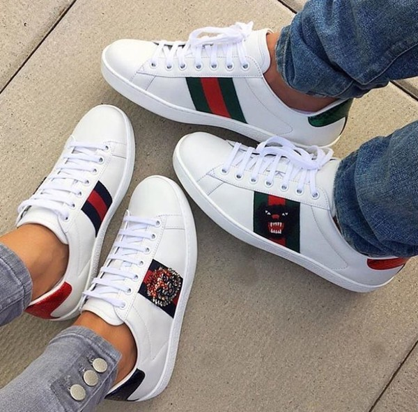 dad9ff3ef998 shoes white gucci sneakers.
