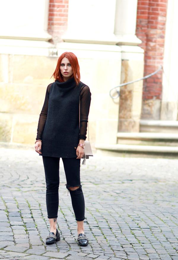 masha sedgwick blogger jacket bag shoes jeans