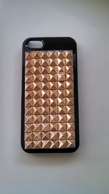 Gold studded iphone 5/5s case · forgotten magic · online store powered by storenvy