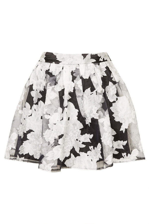 skirt rare printed skirt skater skirt
