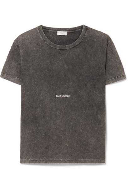 Saint Laurent t-shirt shirt t-shirt cotton top
