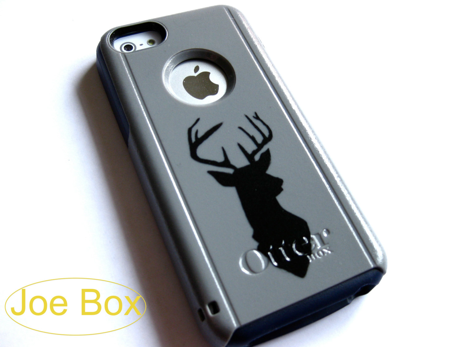 Otterbox iphone 5c case, Iphone 5c case, Glitter case, Iphone cover, custom otterbox iphone 5c, gift, Deer iphone 5c case