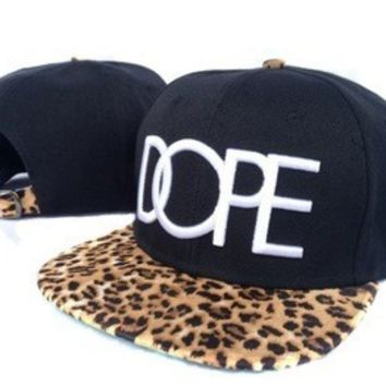 leopard DOPE fashion Snapback hat on Wanelo