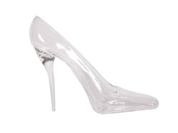 cinderella shoes high heels transparent