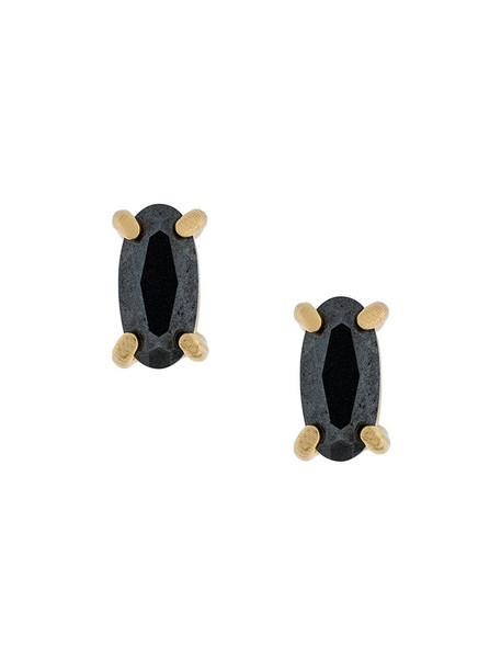 Wouters & Hendrix women earrings stud earrings gold silver grey jewels